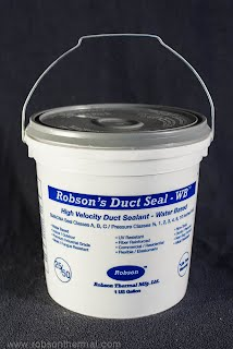 HVAC duct sealant